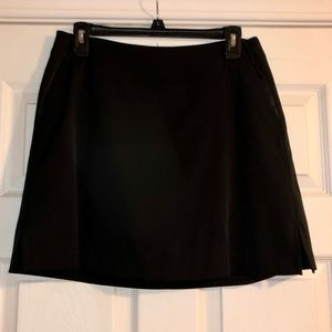 Lady Hagen Size 6 Black Golf Skort